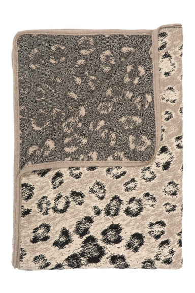 Saved NY - Leopard Cashmere Throw