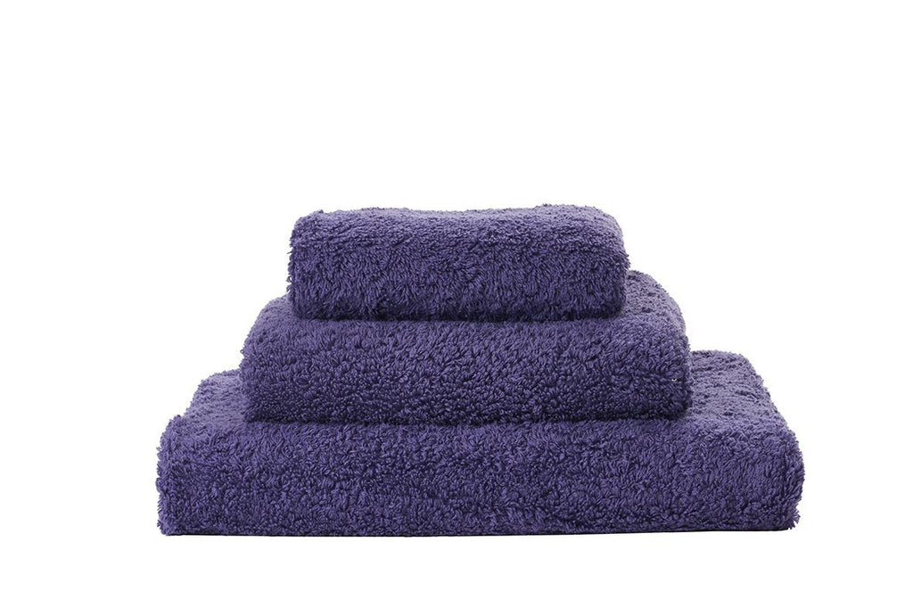 Abyss Super Pile Lilas Towels - Fig Linens