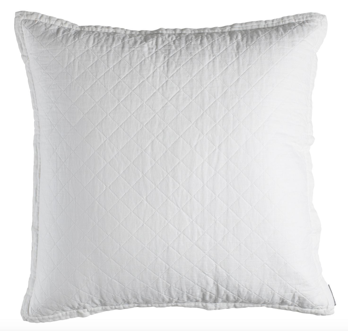 Lili Alessandra Emily White European Pillow