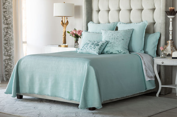 Lili alessandra Battersea Sea Foam Bedding