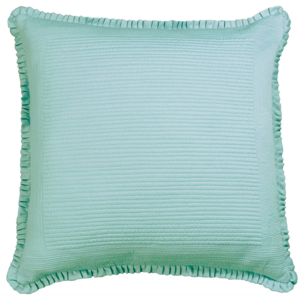 Lili alessandra Battersea Sea Foam Euro Pillow