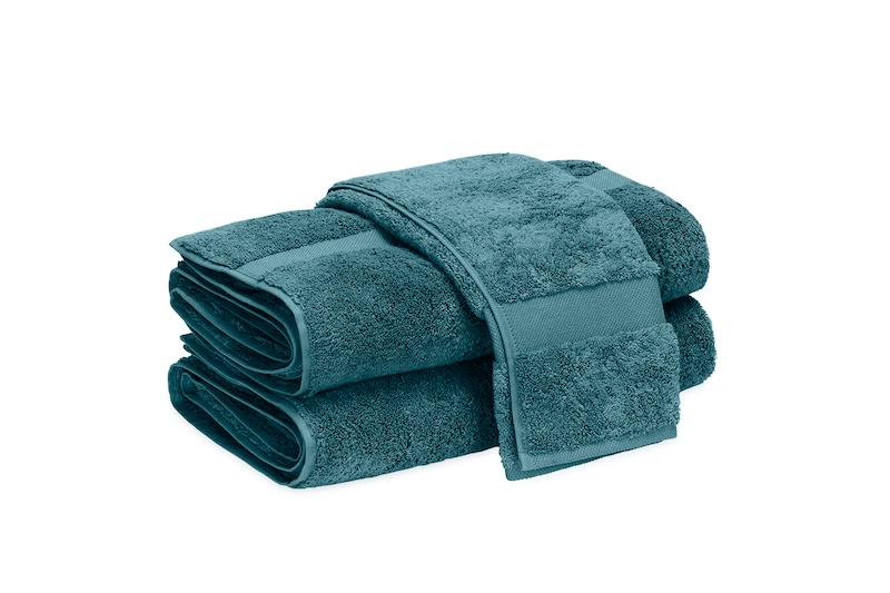 Matouk Lotus Aegean Bath Towels at Fig Linens