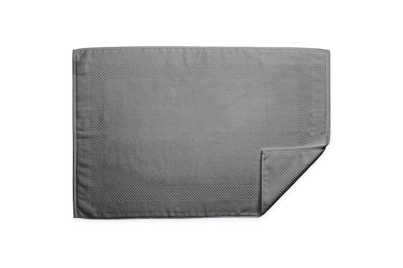 Lotus Charcoal Tub Mat | Matouk at Fig Linens