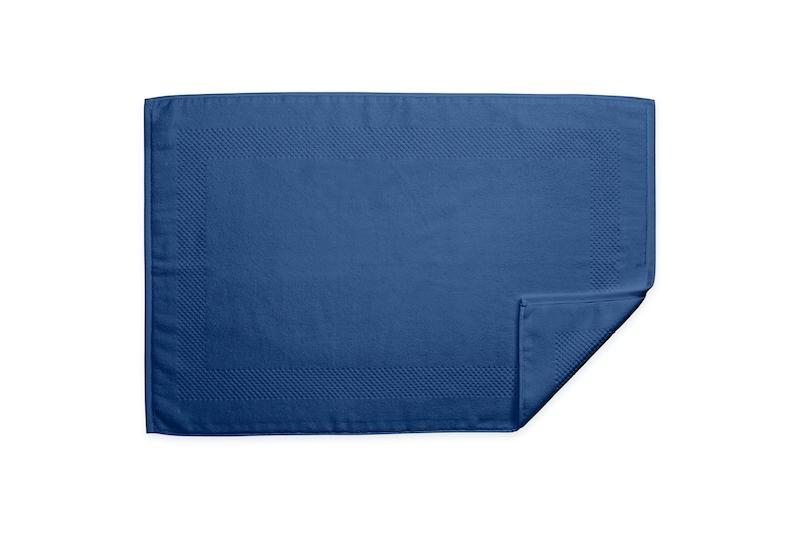 Lotus Indigo Tub Mat | Matouk at Fig Linens