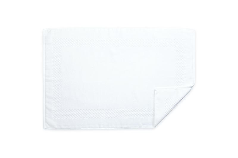 Lotus White Tub Mat | Matouk at Fig Linens
