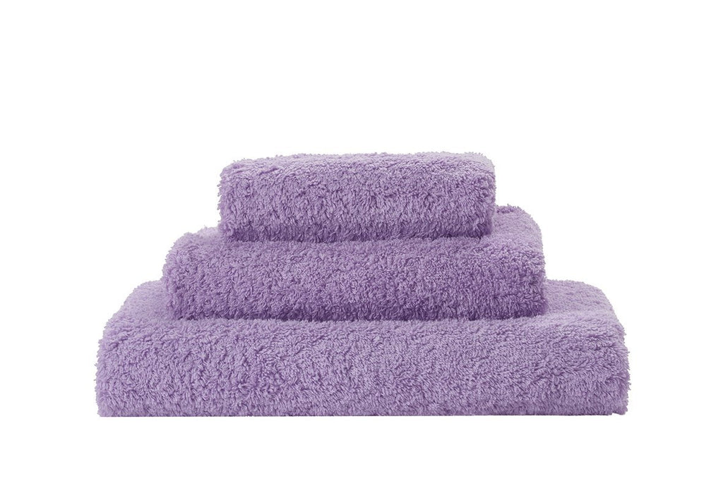 Set of Abyss Super Pile Towels in Lupin 430