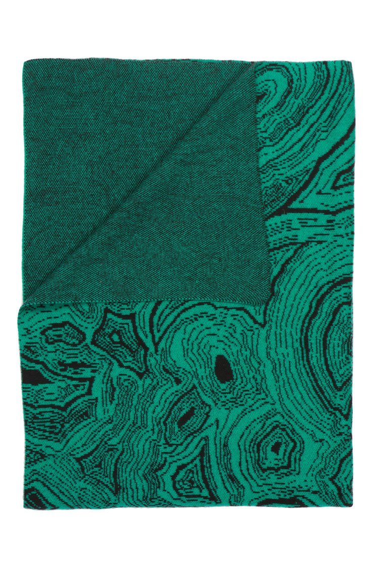 Saved New York Malachite Throw