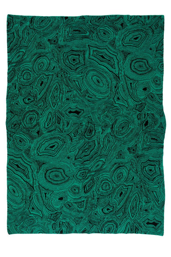 Malachite Throw - Cashmere at Fig LInens