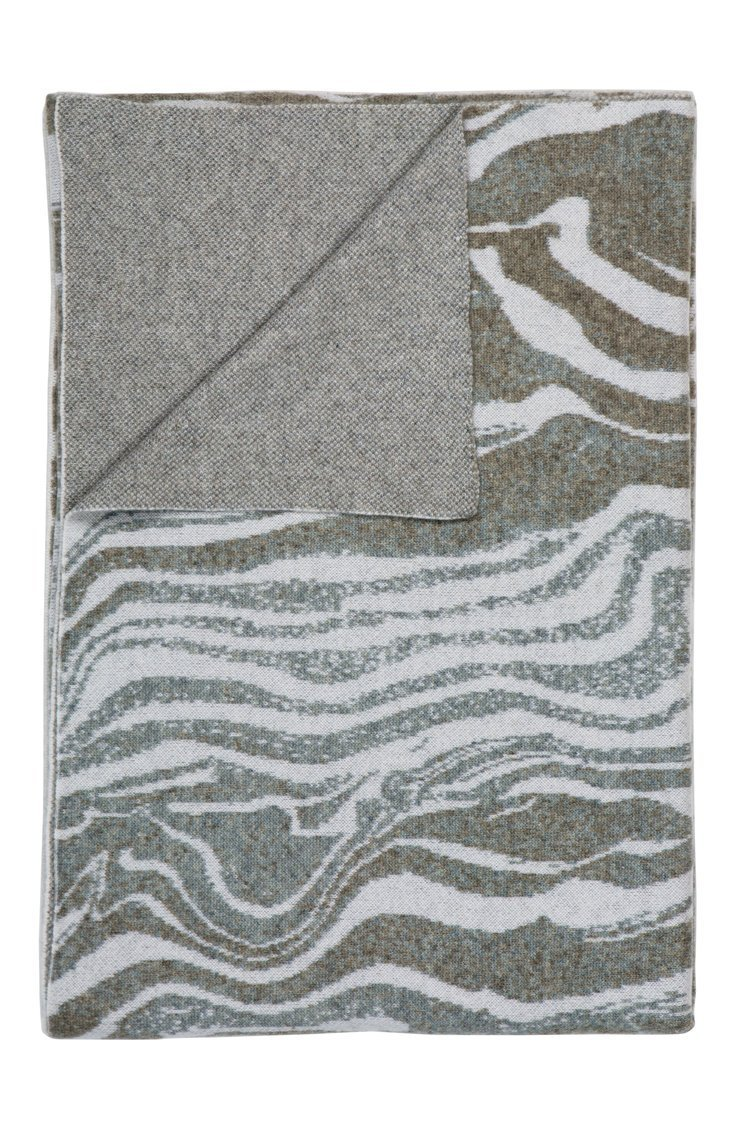 Marble Luna Cashmere Throw - Saved New York