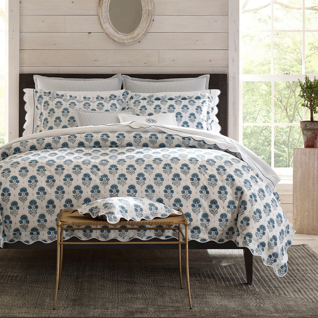 Matouk Joplin Mineral Bedding at Fig Linens
