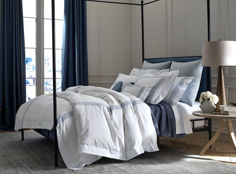 Matouk Liana Bedding at Fig Linens and Home