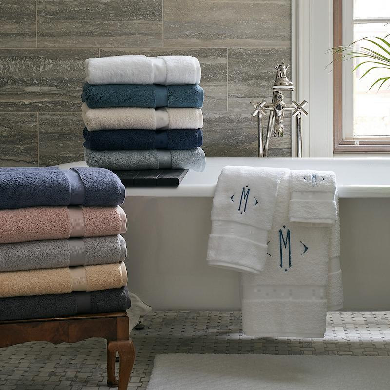 Matouk Lotus Bath Towels | Fig Linens