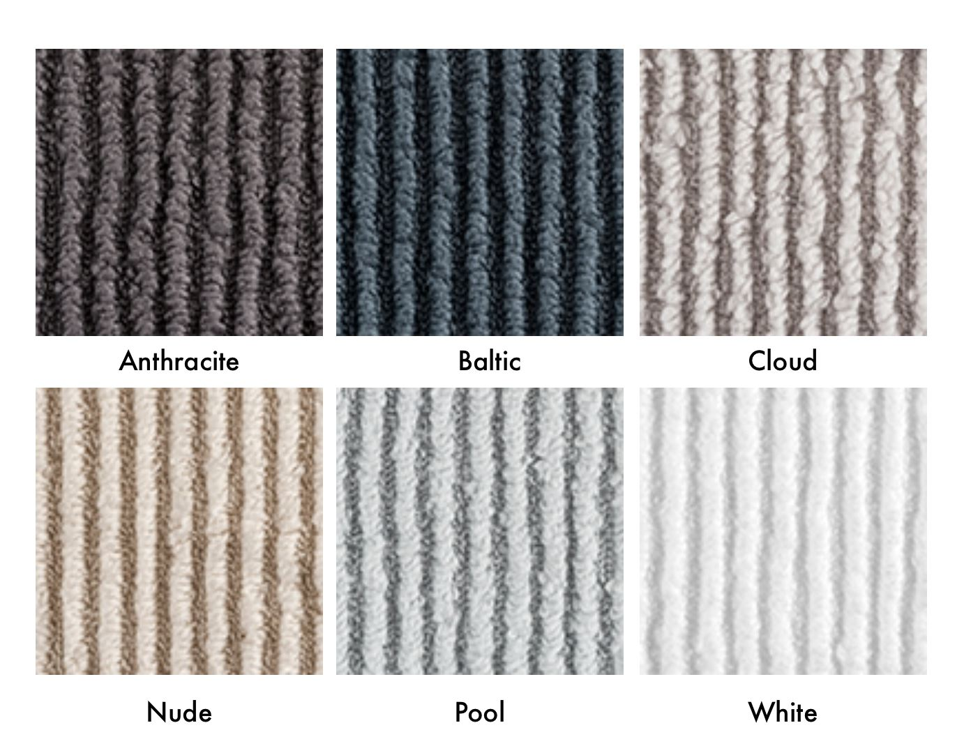 Matouk Aman Towels Color Chart | Fig Linens and Home