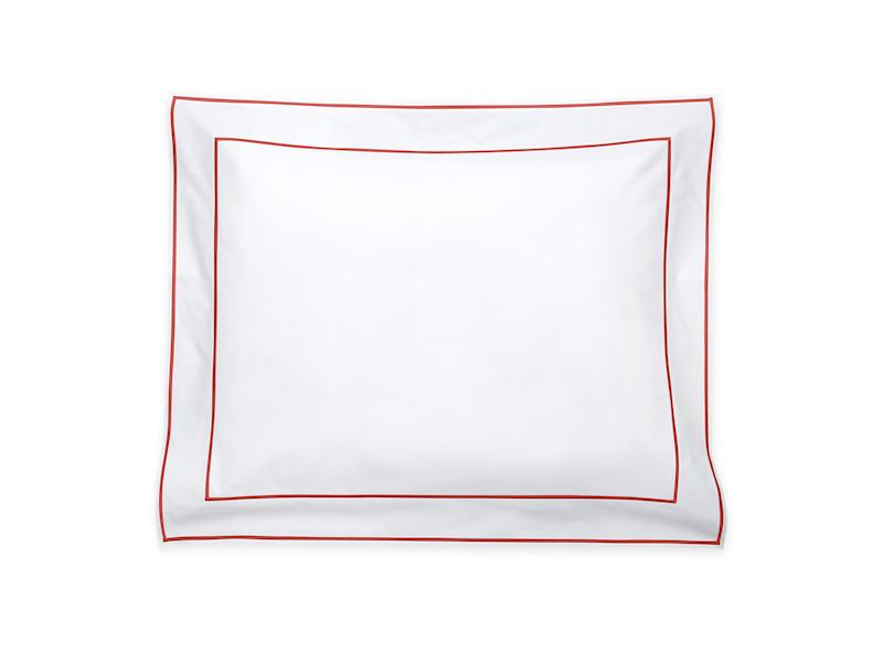 Ansonia Chinese Red Pillow Sham | Matouk at Fig Linens