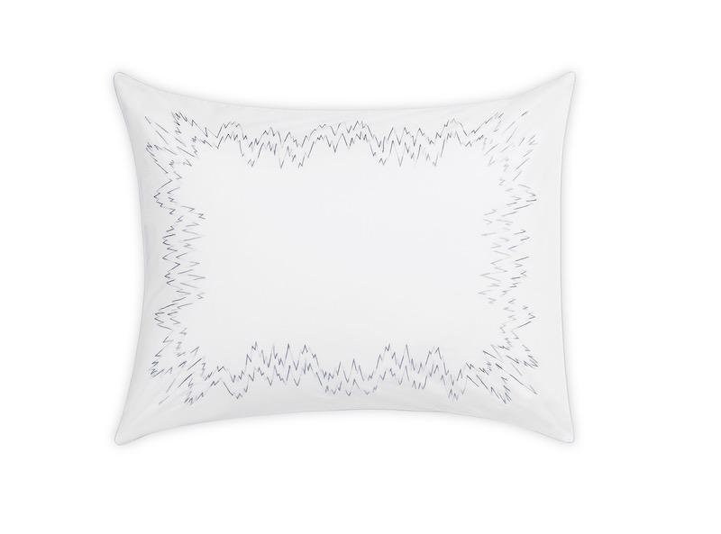 Aries Wave Sham | Matouk at Fig Linens