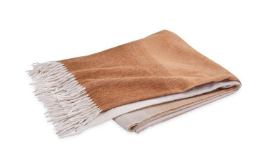 Matouk August Cashmere Throw in Dune | Fig Linens and Home