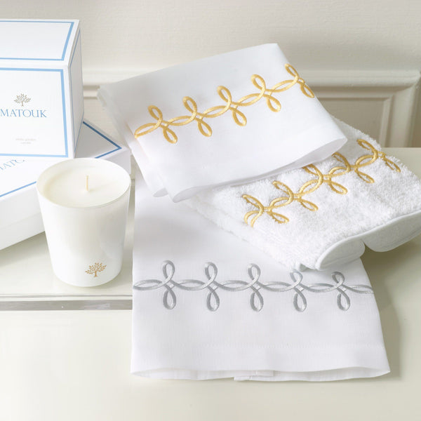 Matouk Gordian Knot Guest Towels | Fig Linens