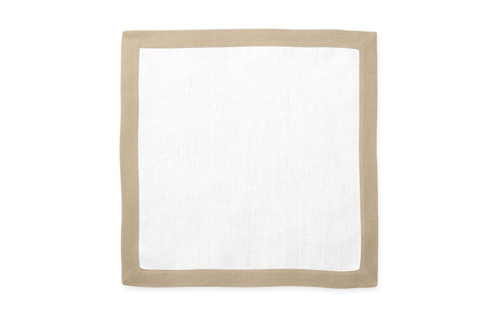 Matouk Table Linens | Casual Couture Square Placemat in Oat