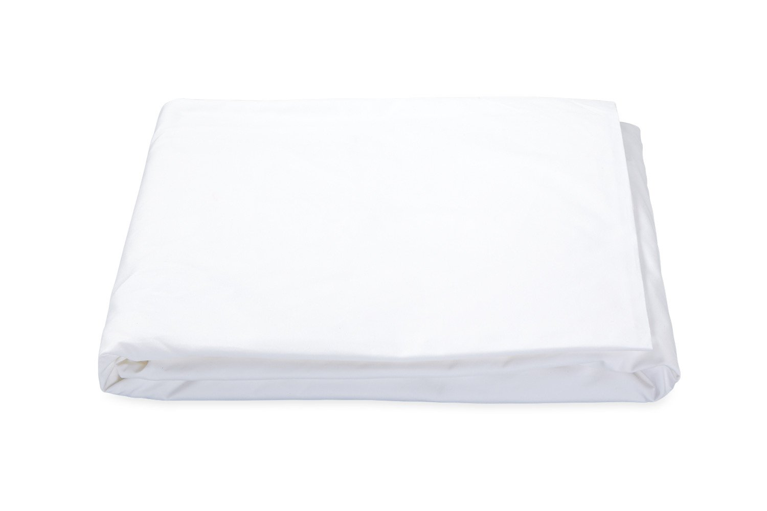 Ceylon White Fitted Sheet | Percale Bedding by Matouk