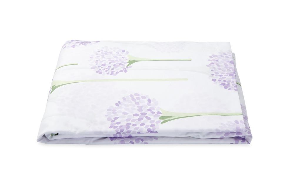 Matouk Charlotte Lavender Fitted Sheet | Fig Linens