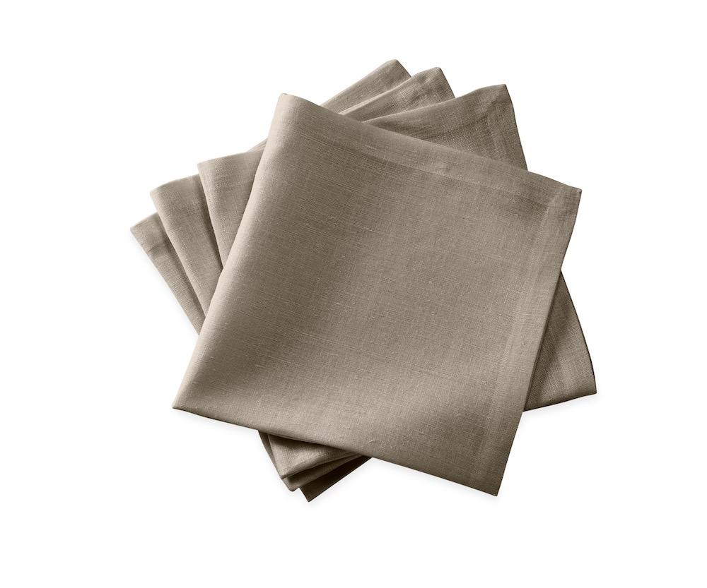 Chamant Stone Cocktail Napkins | Matouk at Fig Linens