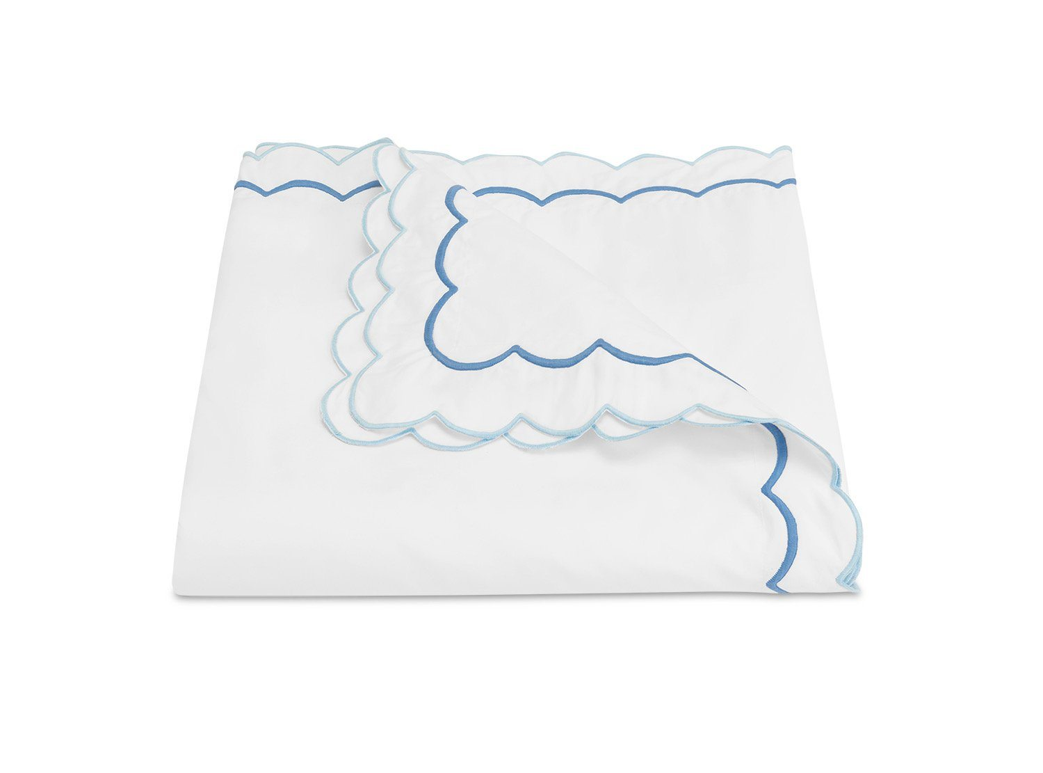 India Azure Duvet Cover by Matouk Fine Linens