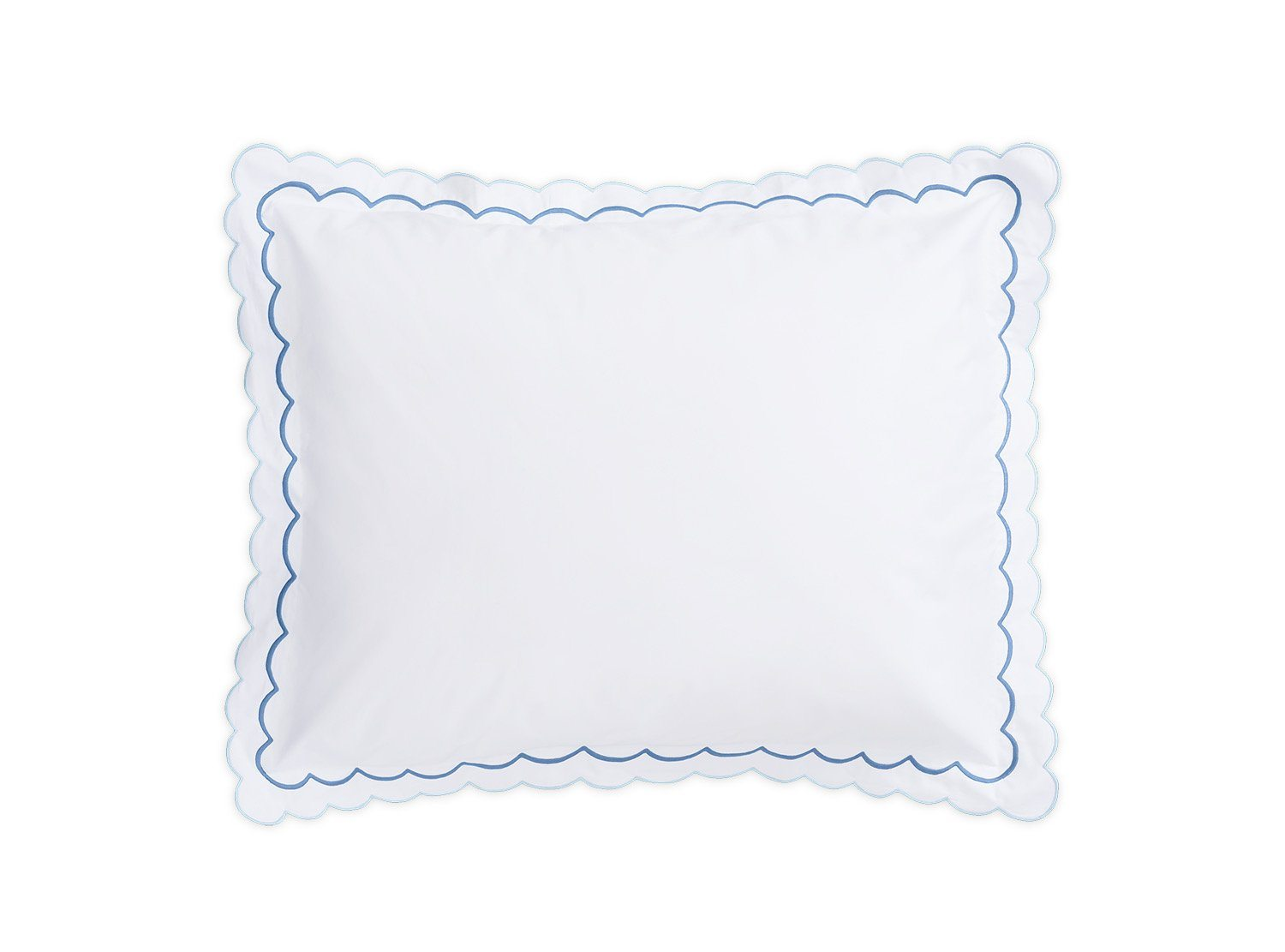 India Azure Sham by Matouk Fine Linens
