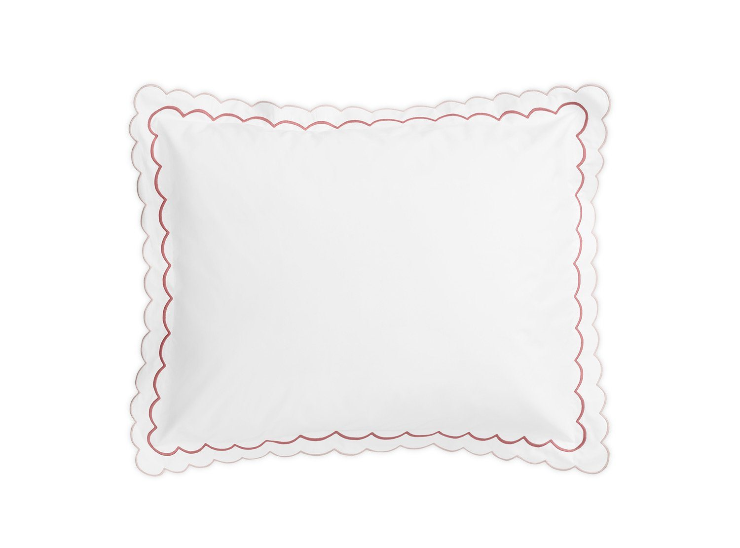 India Blush Sham by Matouk Fine Linens