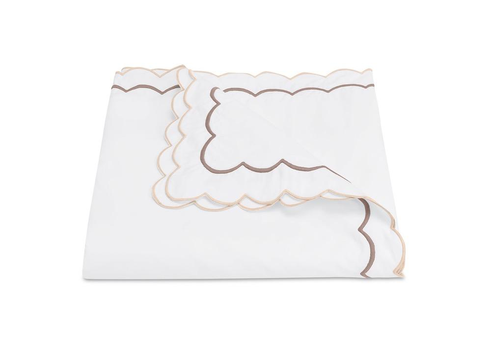 India Driftwood Duvet Cover | Matouk at Fig Linens