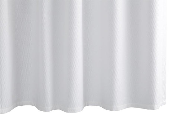 Lanai White Shower Curtain at Fig Linens and Home | MATOUK
