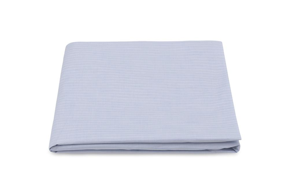 Lorenzo Blue Fitted Sheet | Matouk at Fig Linens