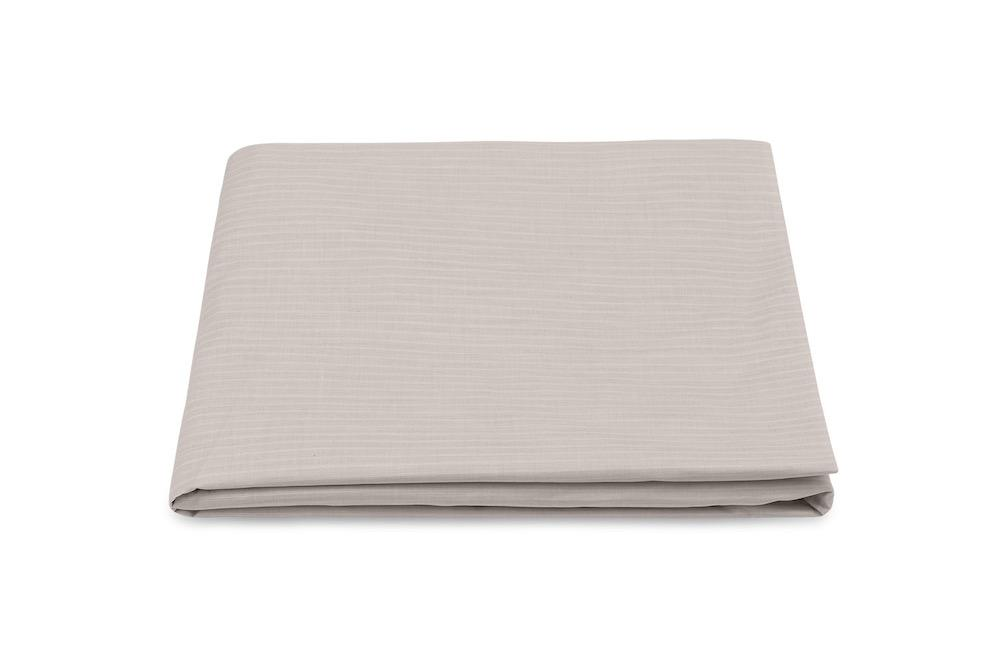 Lorenzo Sandalwood Fitted Sheet | Matouk at Fig Linens