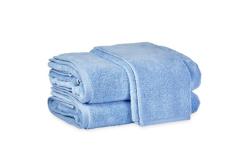 Matouk Milagro Towels in Azure | Fig Linens