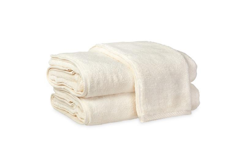 Matouk Milagro Towels in Ivory | Fig Linens