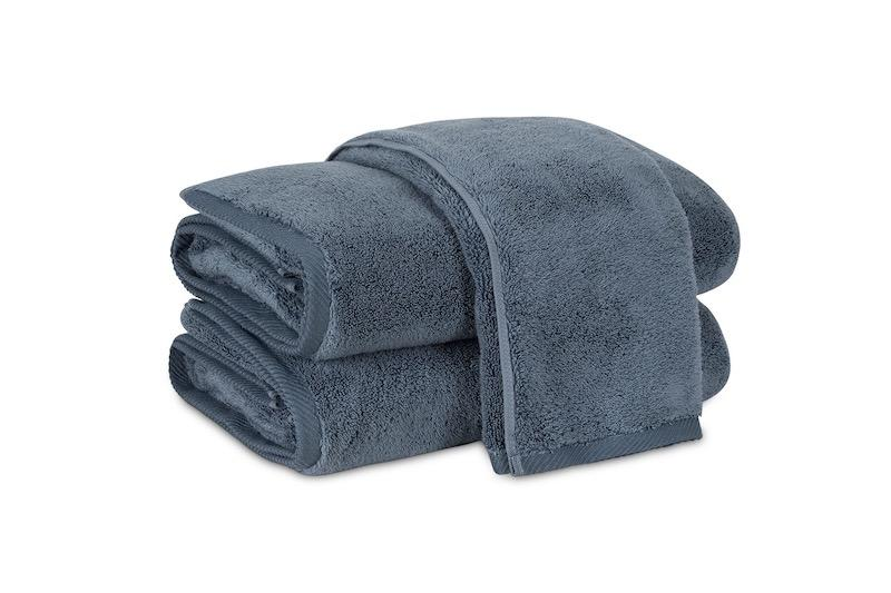 Matouk Milagro Towels in Night | Fig Linens