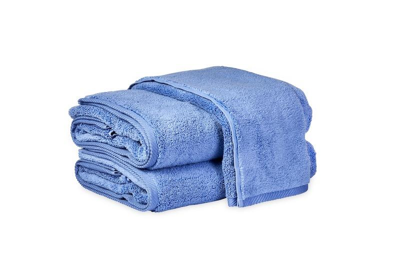 Matouk Milagro Towels in Periwinkle | Fig Linens