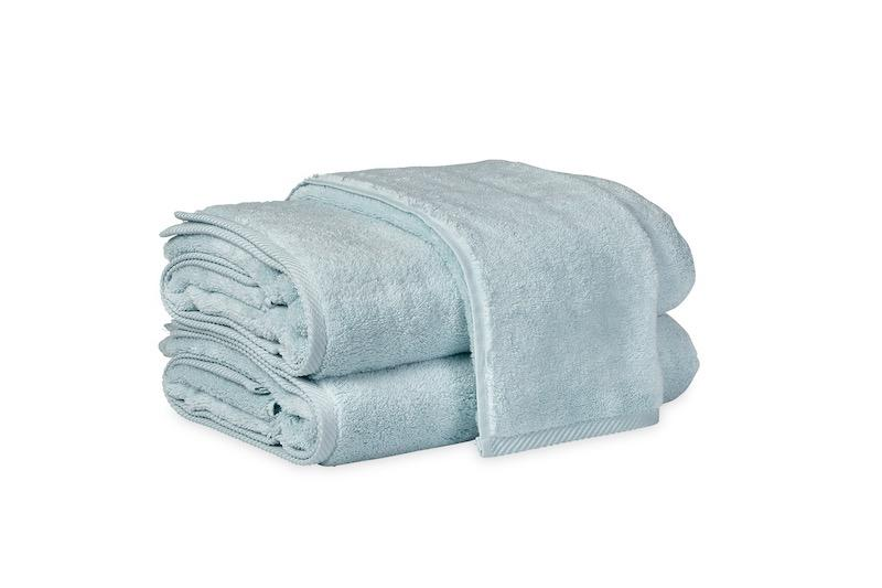 Matouk Milagro Towels in Pool | Fig Linens