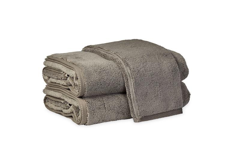 Matouk Milagro Towels in Steel | Fig Linens