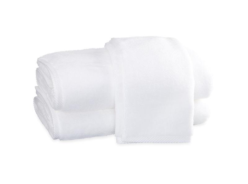 Matouk Milagro Towels in White | Fig Linens