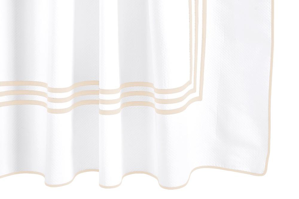 Matouk Newport Cotton Shower Curtain at Fig Linens