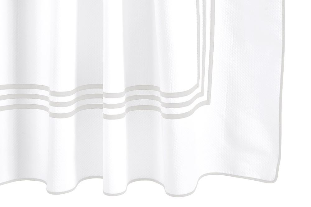 Matouk Newport Icicle Shower Curtain at Fig Linens