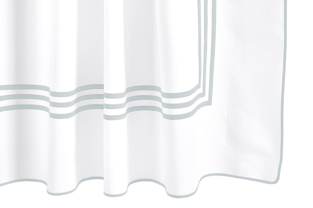 Matouk Newport Pool Shower Curtain at Fig Linens