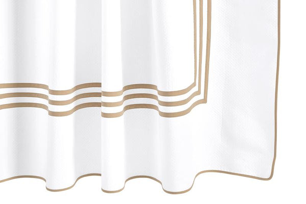 Matouk Newport Linen Shower Curtain | Bath at Fig Linens and Home