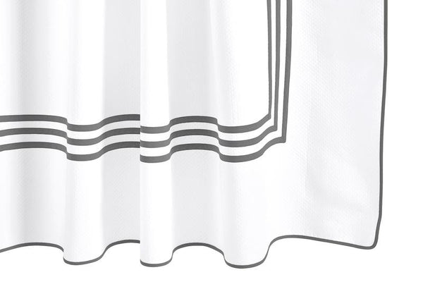 Newport Steel Shower Curtain by Matouk | Fig Linens and Home
