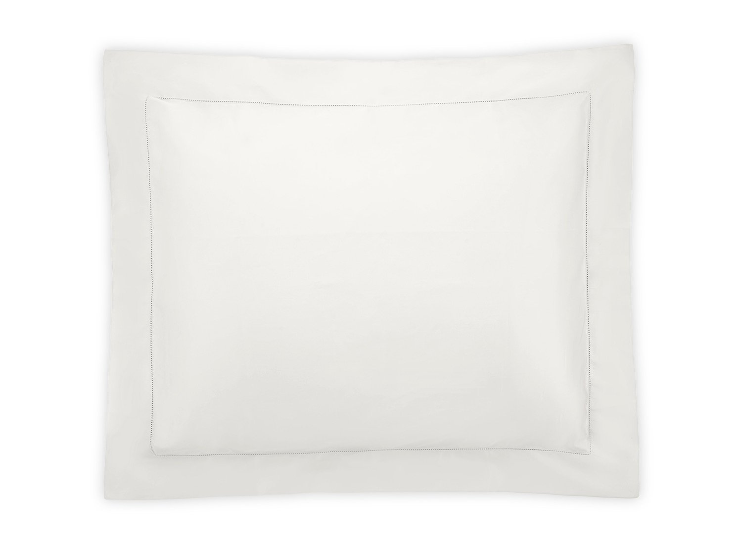 Nocturne Hemstitch Bone Sham | Matouk Sateen Bedding