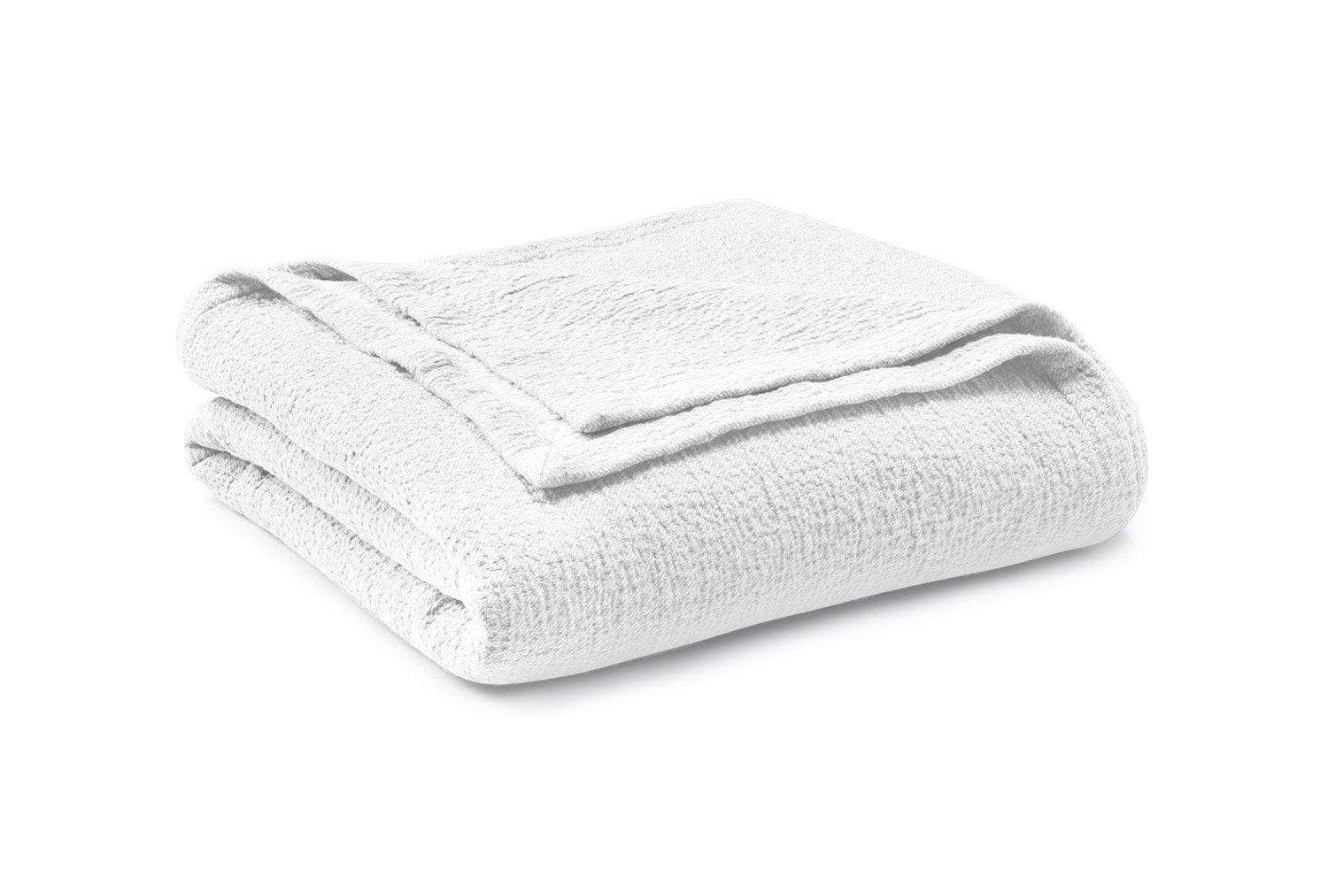 Matouk Pacific White Coverlet | Fig Linens