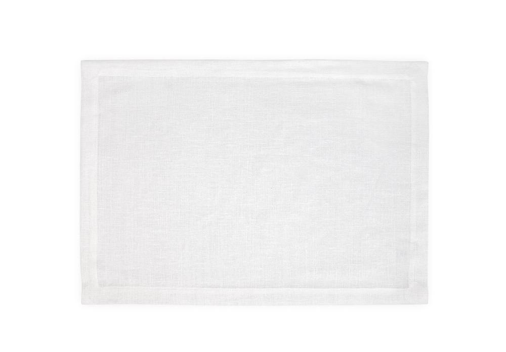 Chamant White Placemats | Matouk at Fig Linens