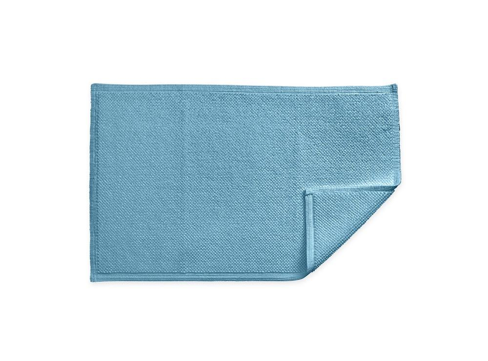 Reverie Cerulean Bath Rug | Matouk at Fig Linens