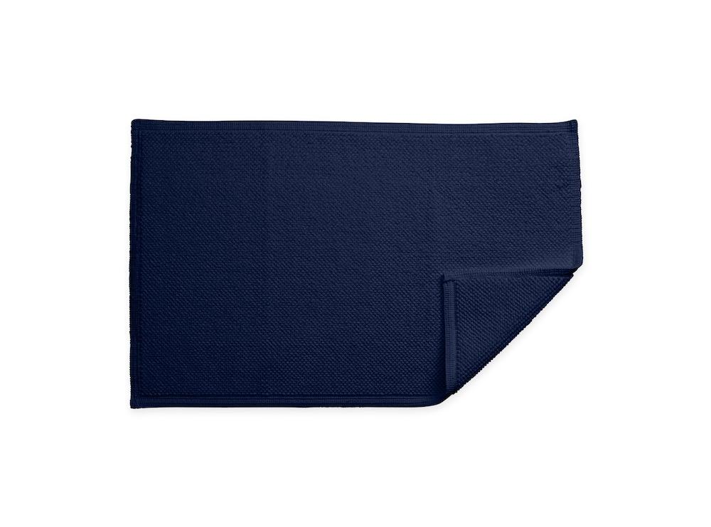 Reverie Navy Bath Rug | Matouk at Fig Linens