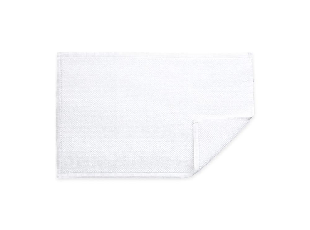 Reverie White Bath Rug | Matouk at Fig Linens